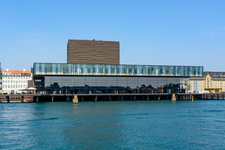 COPENHAGEN, DENMARK - June 23, 2016: Royal Danish Playhouse building - a theater building for the Royal Danish Theatre.