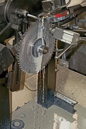 Sharpening machine with disc.Vertical image Stock Photo - 9819368