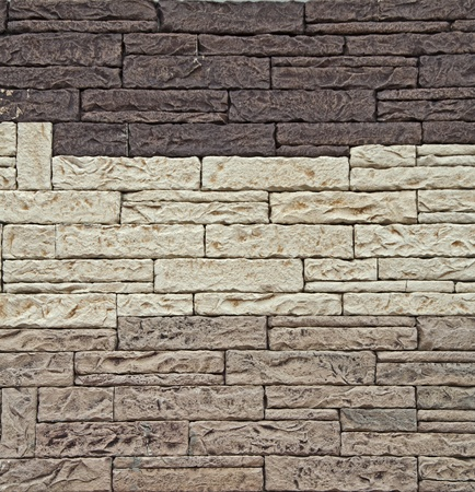 Background of stone wall. Natural Texture  Stock Photo - 9927081