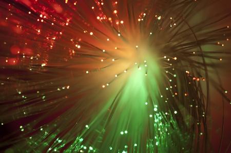 luminescence: Multicolored optical fibers