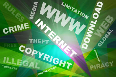 warez: Internet texts and background copyright conception