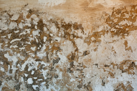 dilapidated wall: Battered old wall Stock Photo
