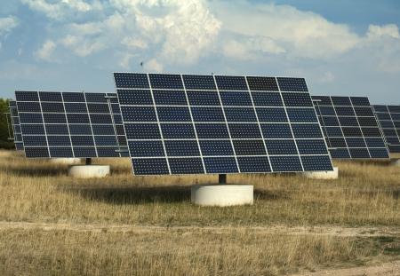 industrial park: Pannelli solari nel parco industriale