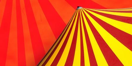 fondo de circo: Rojo y amarillo circo cúpula