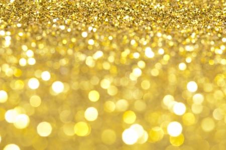 iluminado: Alquiler de brillantes luces borrosas en colores amarillos