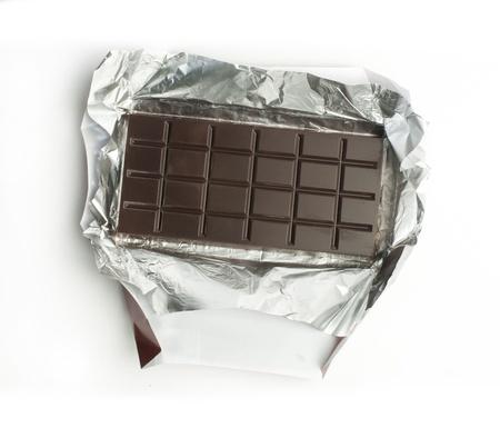 cikolata: Chocolate bar in packaging of aluminum foil