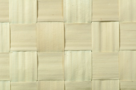 Background of plaited bamboo strips photo