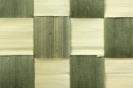 Background of plaited bamboo strips