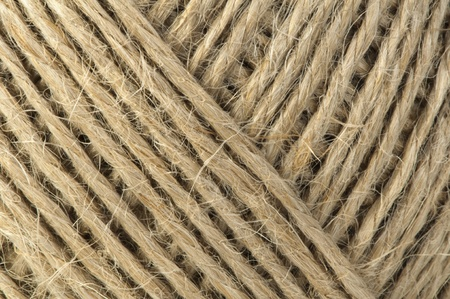 cordage: Hemp rope close up background