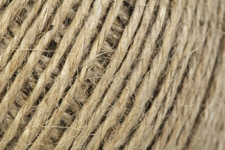 Hemp rope close up background photo