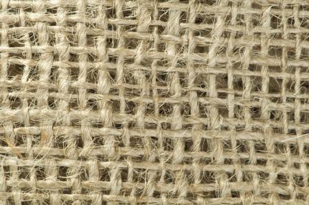 textil: Burlap background. Very close up burlap textil.