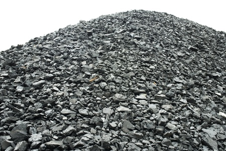 combustion: Combustion coal pile Stock Photo