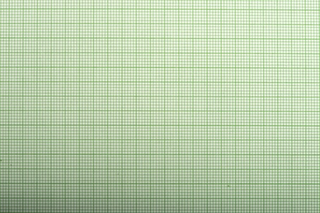 Squares paper for mathematics. Green colors photo