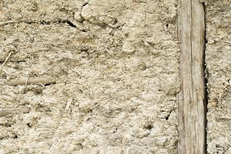 adobe wall: Vecchio muro di mattoni della casa Archivio Fotografico