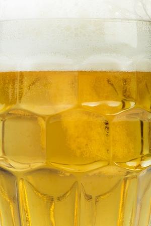 Mug beer close up background. Studio shot photo