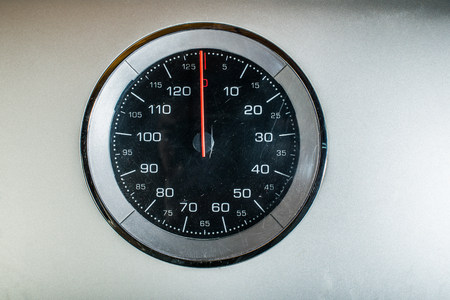 Weigh scales close up