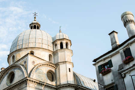Santa Lucia church Venice. Exterior photo