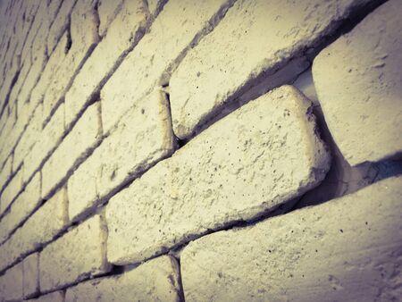 interior: White brick wall interior