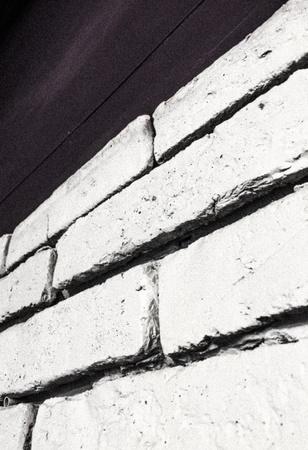 white: White brick wall interior