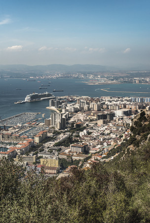 Gibraltar from high viewpoint