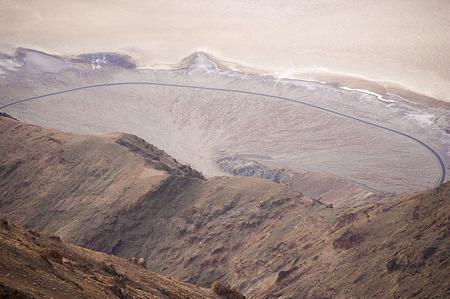 Lonely Desert Road