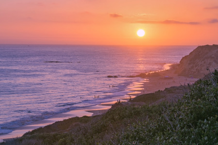 cove: Crystal Cove Sunset