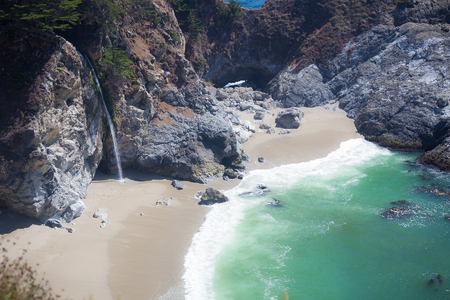mcway: McWay Falls Stock Photo