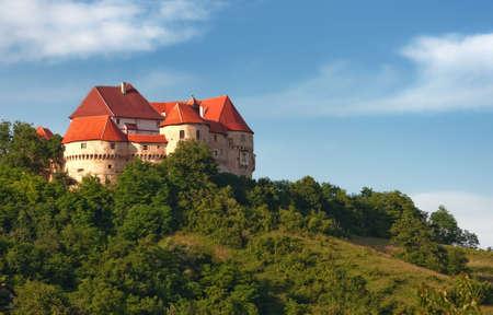 Veliki Tabor - Croatian medieval castle Reklamní fotografie - 6902410