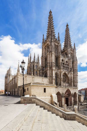Cathedral dedicated to Virgin Mary in Burgos, Spain
