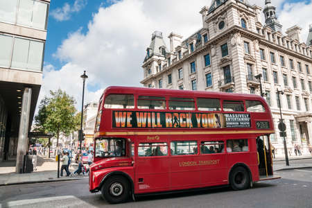 London Bus  Approximately 7,500 iconic red buses carry more than six million passengers each weekday on a network serving all parts of Greater London