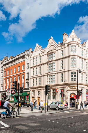 Oxford Street in London  It s 1 5 miles  2 4 km  long major road in City of Westminster and Europe s busiest shopping street Redakční