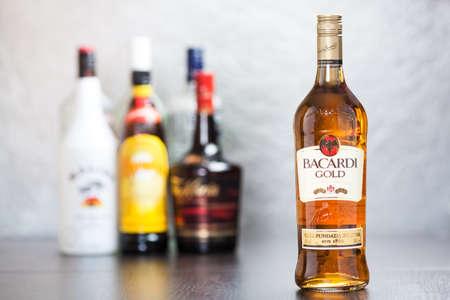 bacardi: Bacardi Gold is rum made by the Bacardi Company