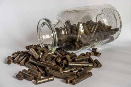 pellets: Torrefied wood pellets, renewable energy