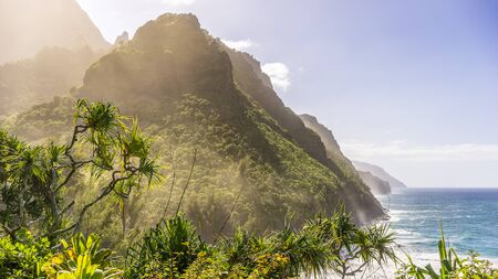 Napali Coast, Paradise Landscape, Wallpaper