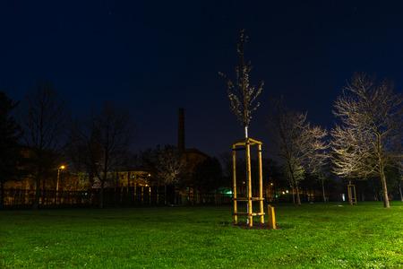 Lene Voigt Park, Leipzig, Germany Stock fotó