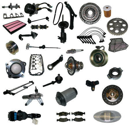 acceleration car detail drive engine force garage gear Standard-Bild