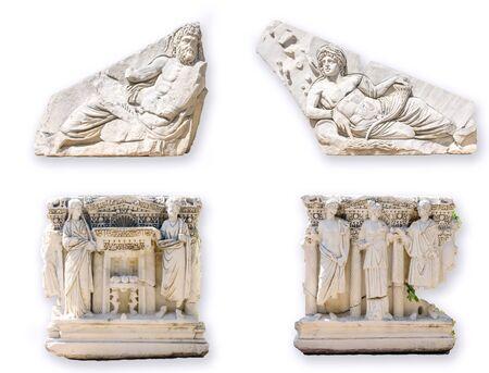 mythological: Roman sarcophagus with mythological scenes,  Antalya,  Turkey
