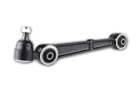 Front lower control arm for a car Archivio Fotografico