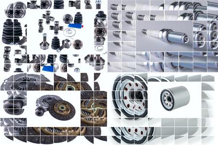 aftermarket: Spare parts car shop auto aftermarket shop Stock Photo