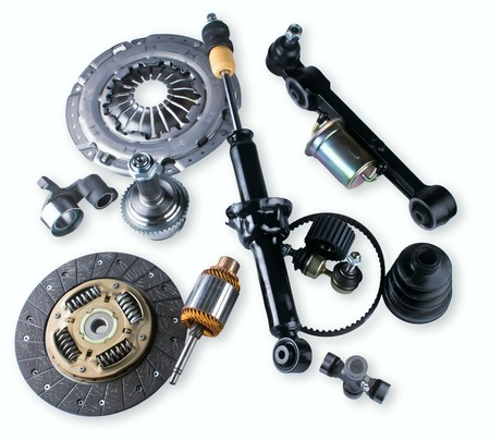 spare parts car shop auto aftermarket assortment