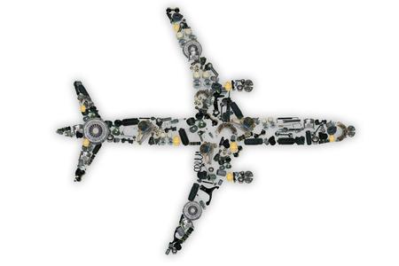 ショップの自動車アフター マーケット用スペアパーツ飛行機