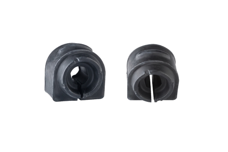 stabilizer: automobile Spare Parts stabilizer bar bushings on a white background Stock Photo