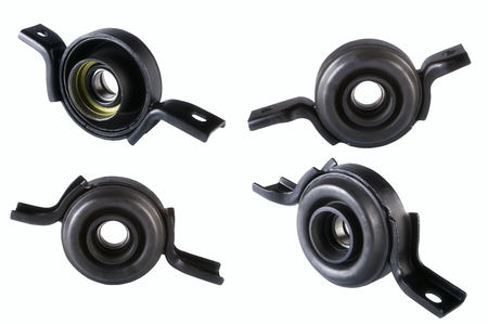 Spare part cardan shaft bearing for car. Isolate on white background