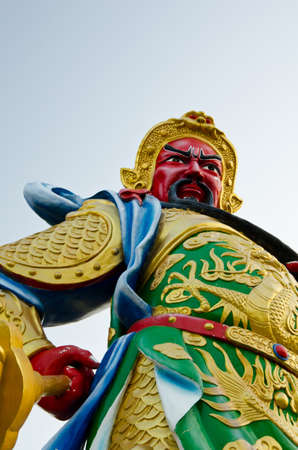 China Red Gods face  Stock Photo - 12880857
