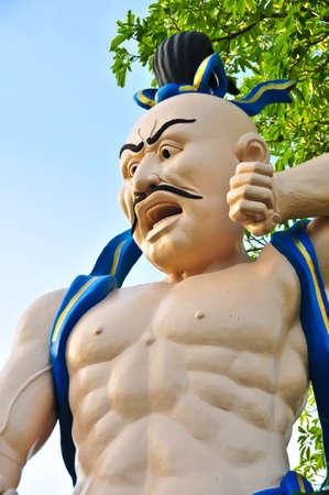 chinese buddha: Chinese Buddha on bule