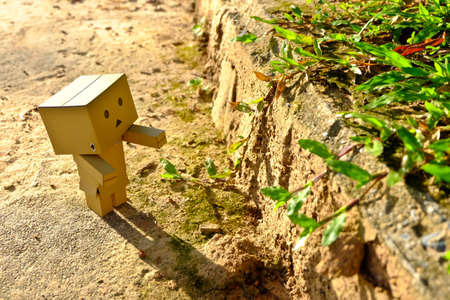supervillian: Robot box Walk in the park