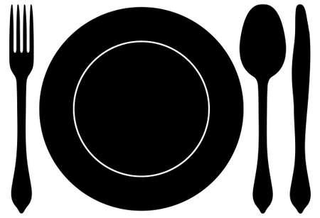 Spoon set Illustration