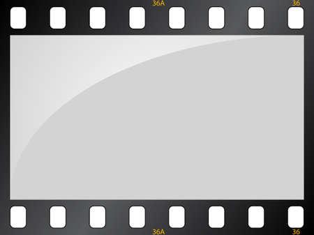 Filmstrip background Illustration