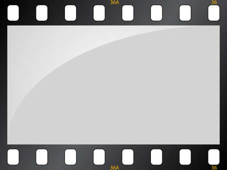 Filmstrip background Illustration