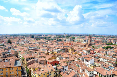 View of the historic centre of Verona - Italy